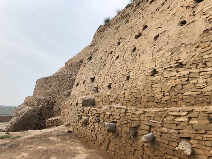 Festungsmauern Shimao