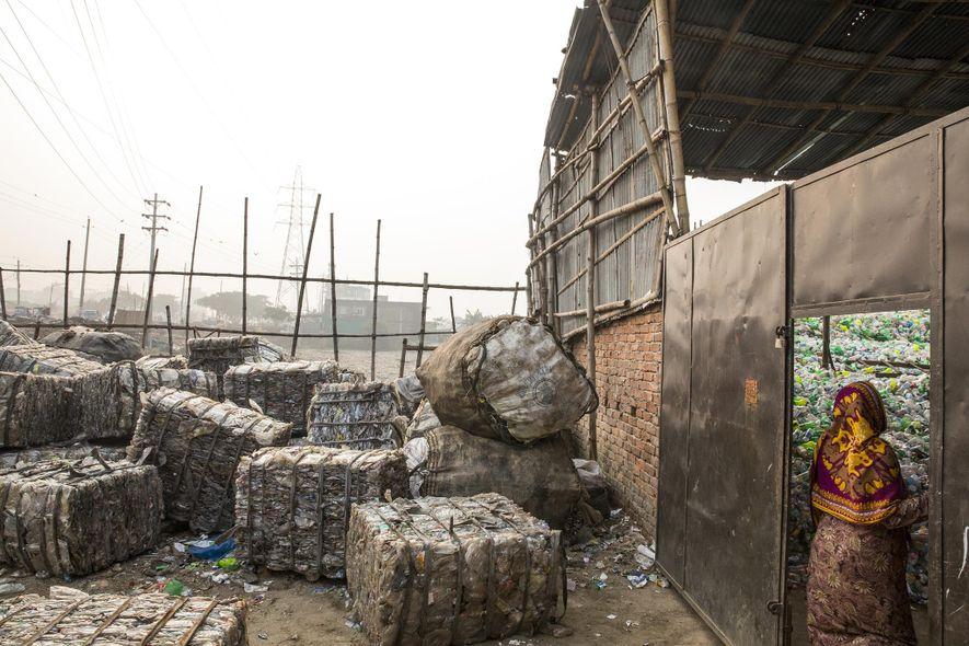 Export von Plastikmüll in ärmere Länder wird erschwert