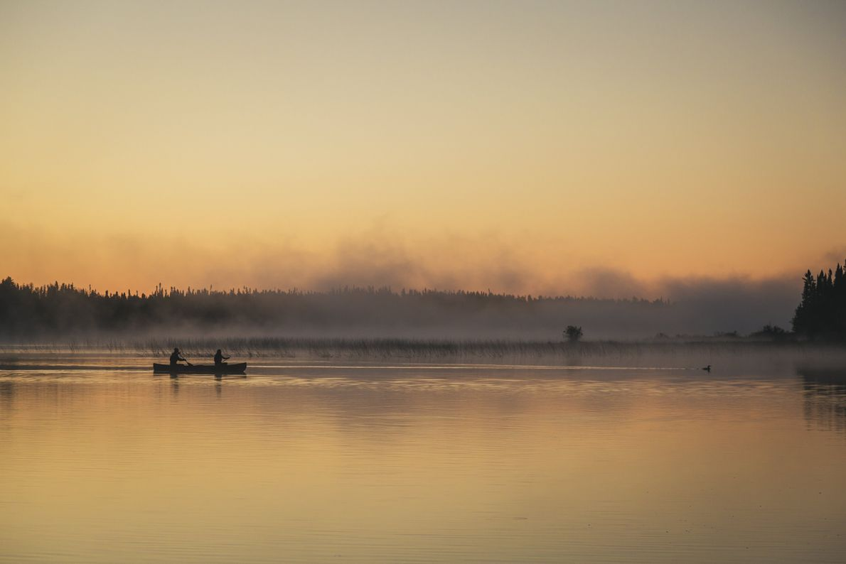 Besucher des Wabakimi Provincial Park können zwischen ruhigen und entspannten Routen sowie abenteuerlicheren Strecken wählen.