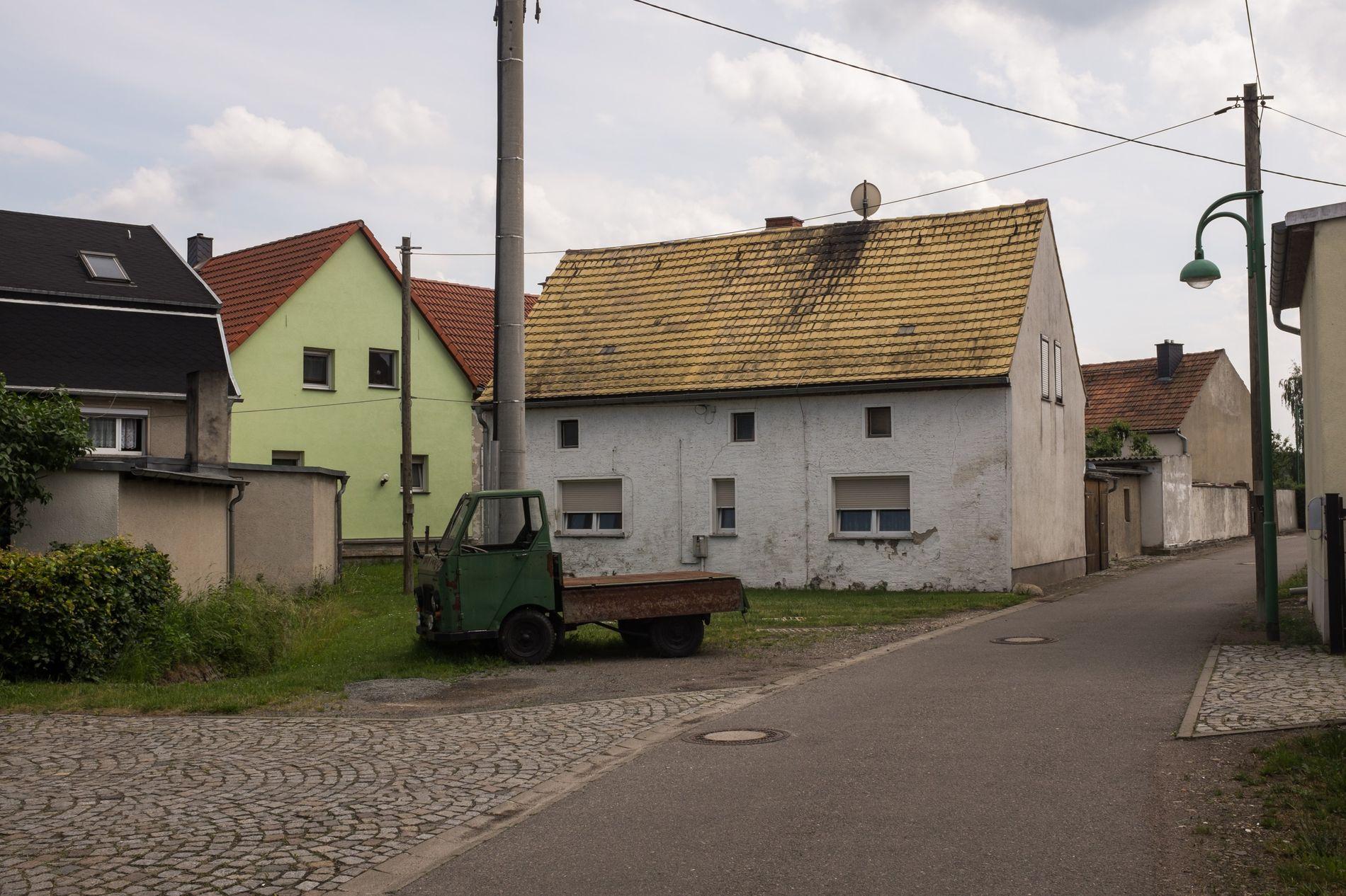 Dörfliches Sachsen: Der Trend zur Landflucht ist ungebrochen.