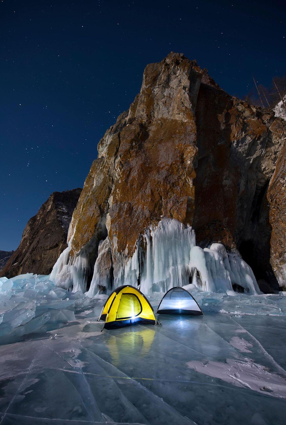 zwei Zelte