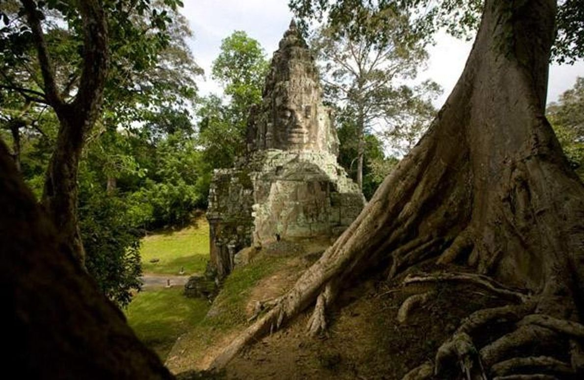 Siegestor in Angkor Thom