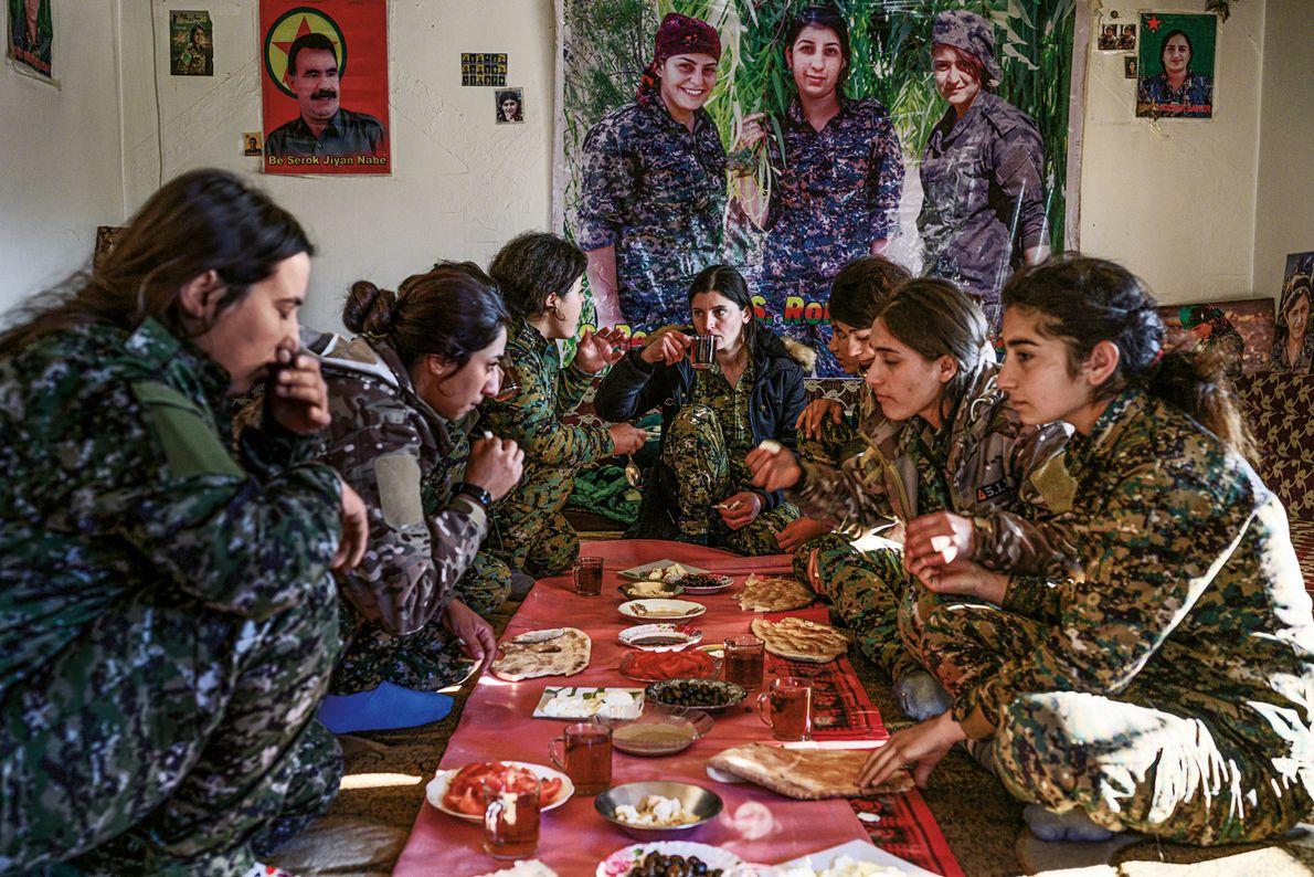 Soldatinnen in Syrien