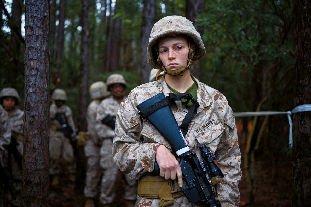 US-Soldatin