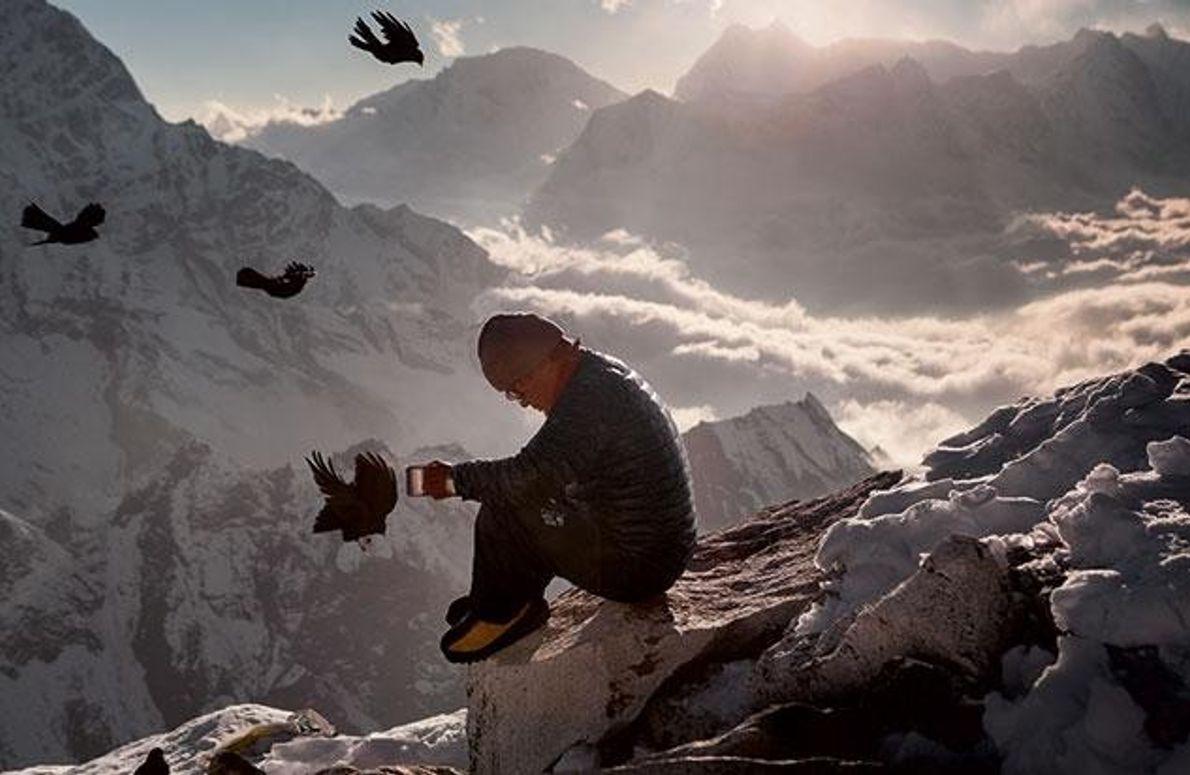 Sorge am Berg