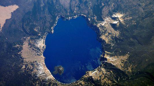 Nationalparks aus dem Weltall betrachtet