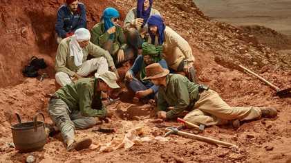 Galerie: Fossilfund enthüllt den ersten bekannten schwimmenden Dinosaurier der Geschichte