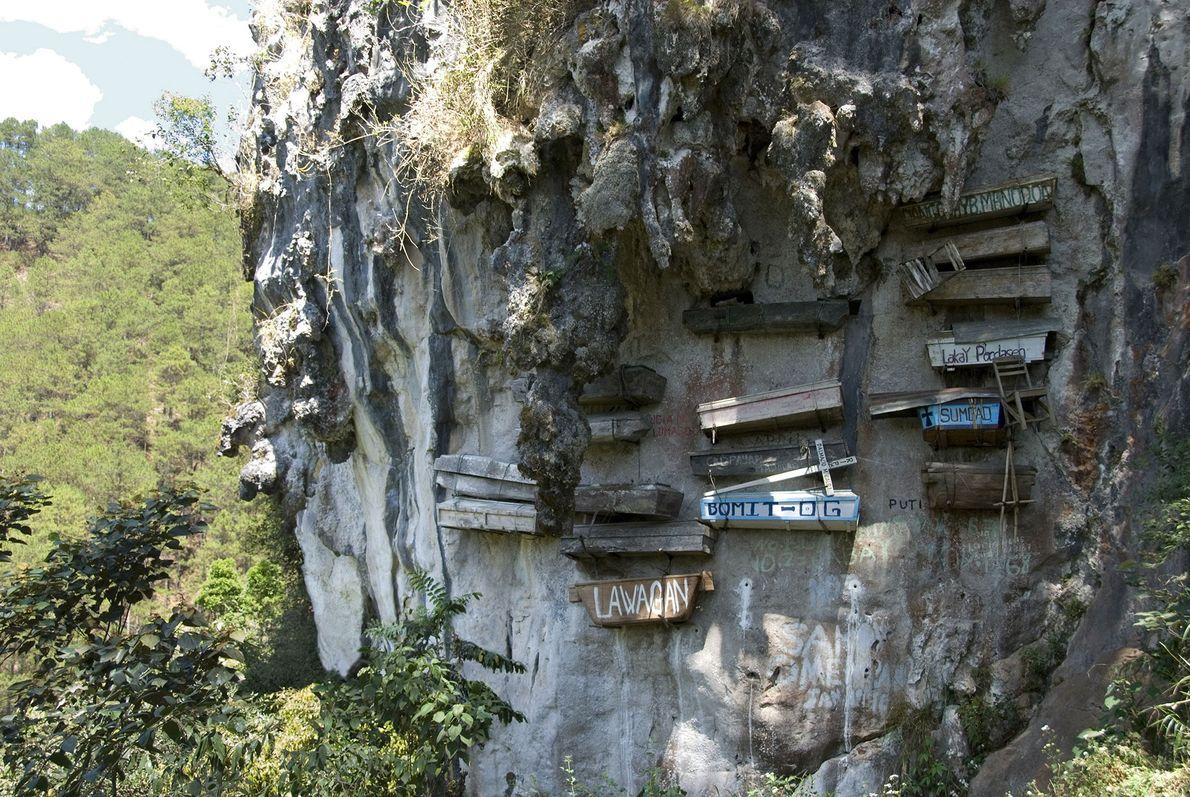 Hanging Coffins, Philippines