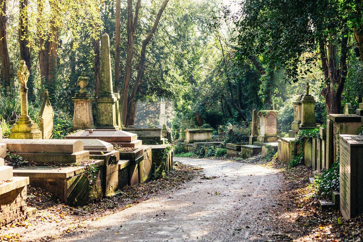 Highgate Cemetery, England