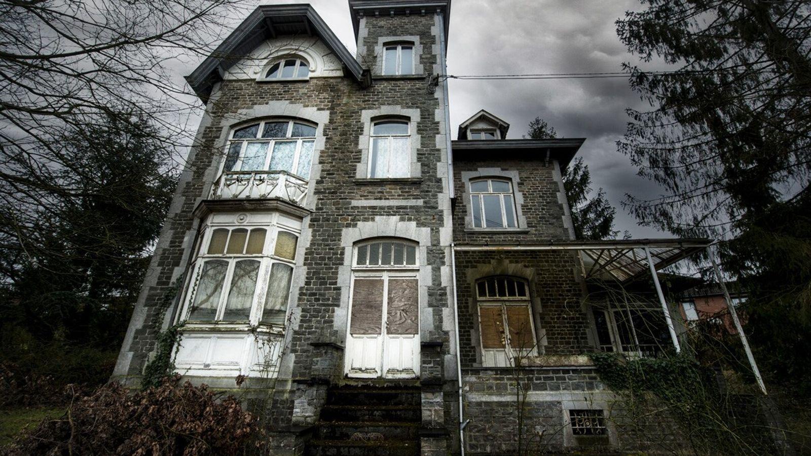 gruseliges Spukhaus
