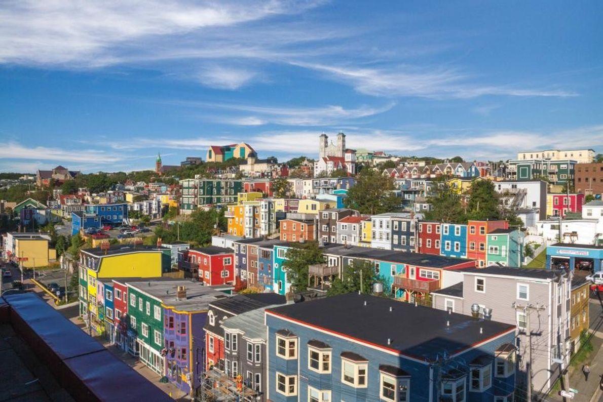 St. John's ist eine bunte und dynamische Stadt, die zugleich zu den ältesten europäischen Siedlungen Nordamerikas ...