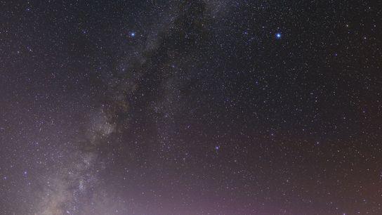Trotz der Stadtbeleuchtung ist das Kitt-Peak-Nationalobservatorium in Süd-Arizona ein toller Ort, um Sternkonstellationen zu beobachten.