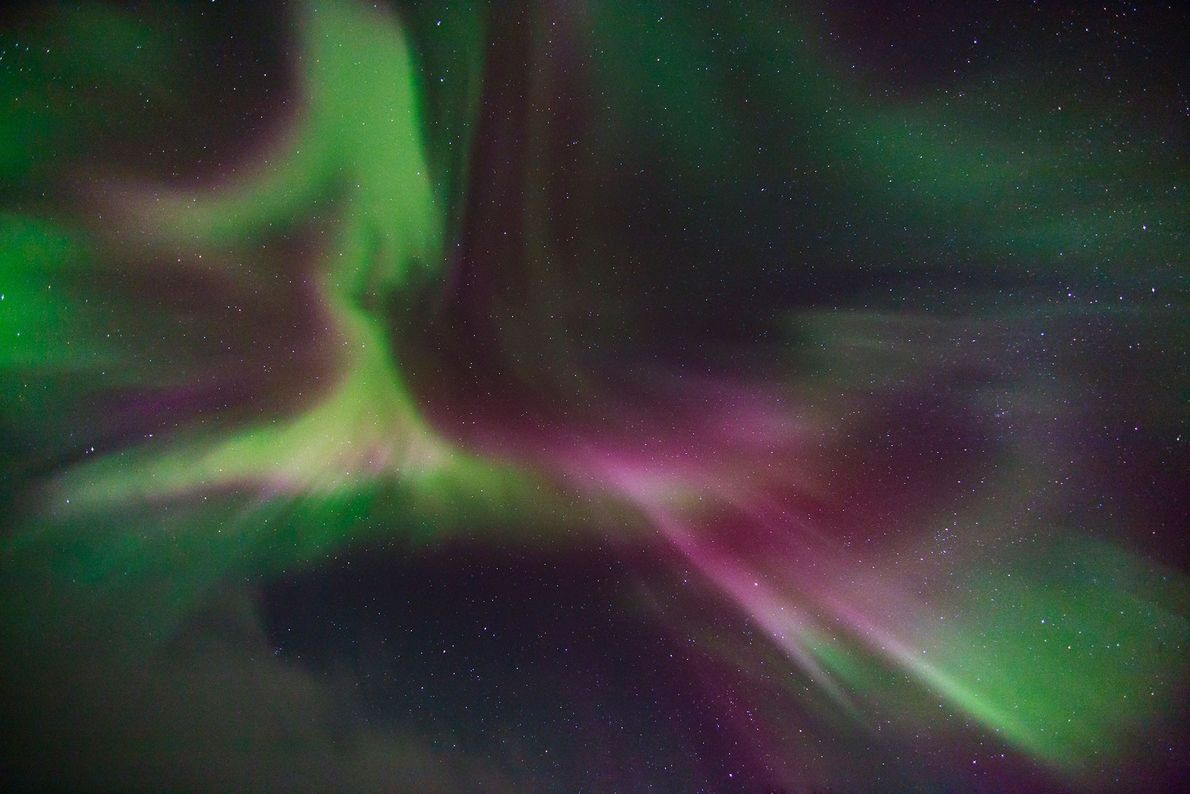 Die Aurora borealis, auch Nordlicht genannt, scheint nicht von dieser Welt zu sein. Ihr Ursprung liegt ...