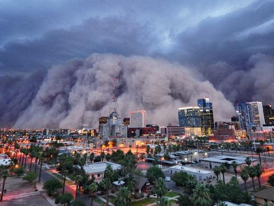 Galerie: Das Wetter – immer extremer?