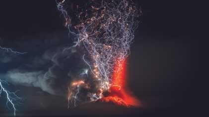 Schnell erklärt: vulkanische Blitze