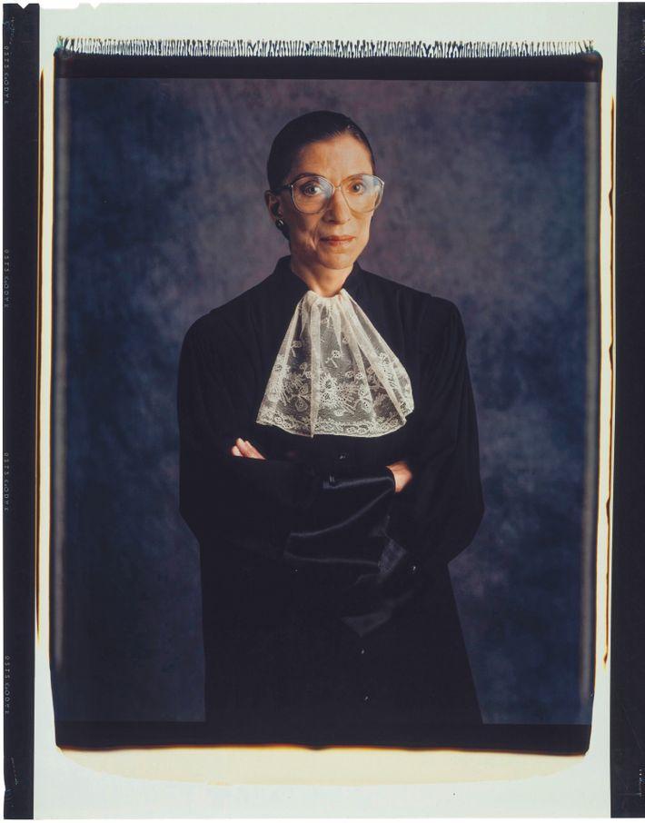 Ruth Bader Ginsburg diente von 1993 bis zu ihrem Tod 2020 am Obersten Gerichtshof der USA.