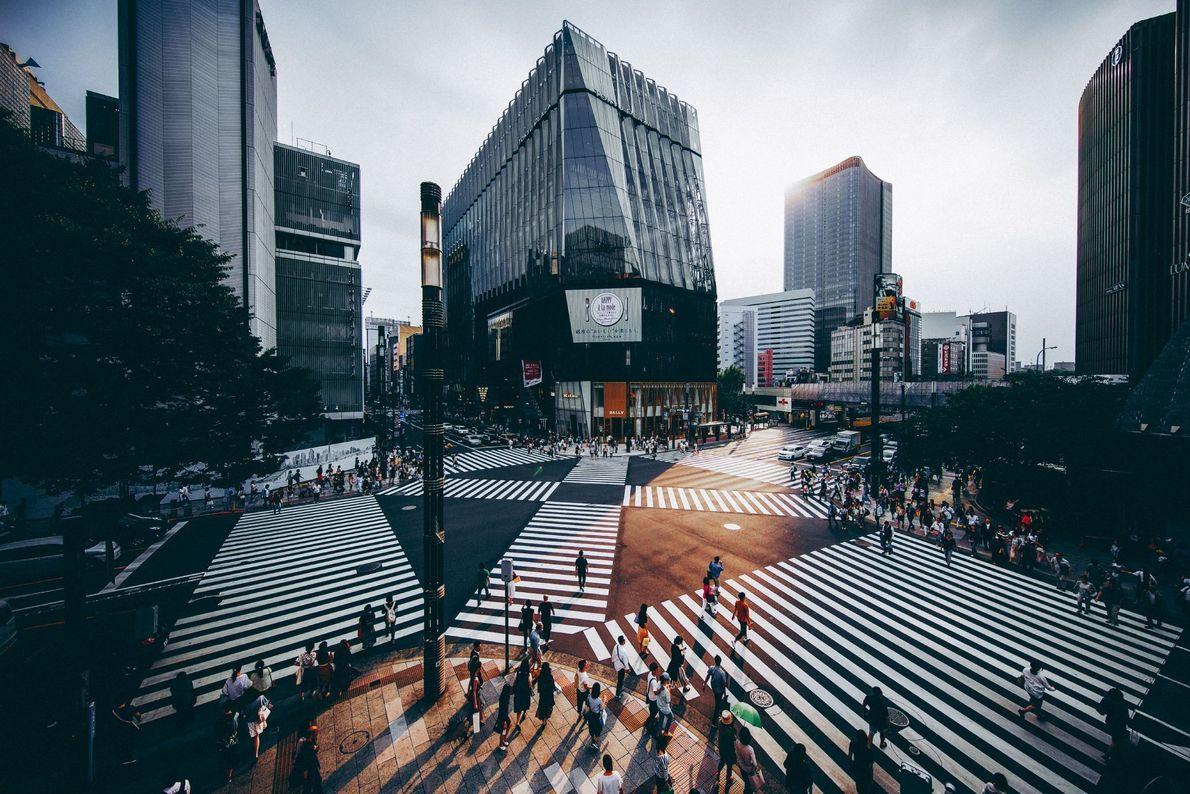 Ginza in Tokio