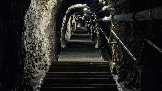 Treppen, Artilleriewerk Waldbrand