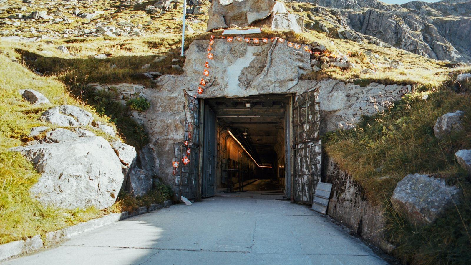 Eingang, Festung Sasso da Pigna