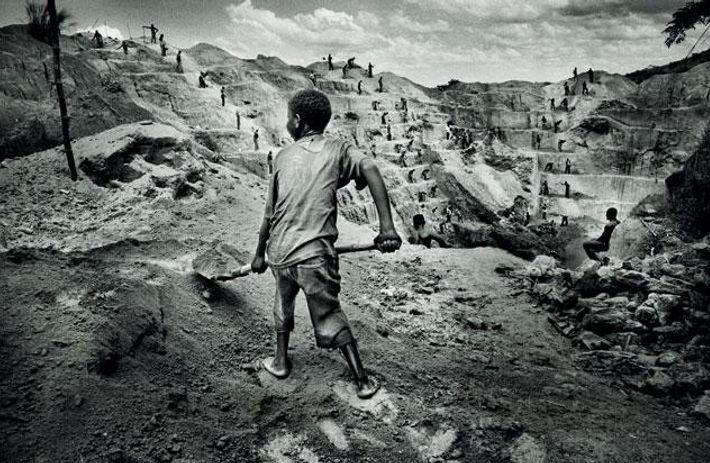 Tagebau in Watsa