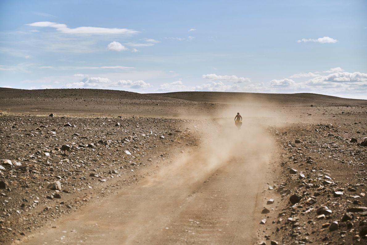 Tag 3: Dank Rückenwind und geringer Steigung legen wir an diesem Tag 110 Kilometer zurück. Unser ...