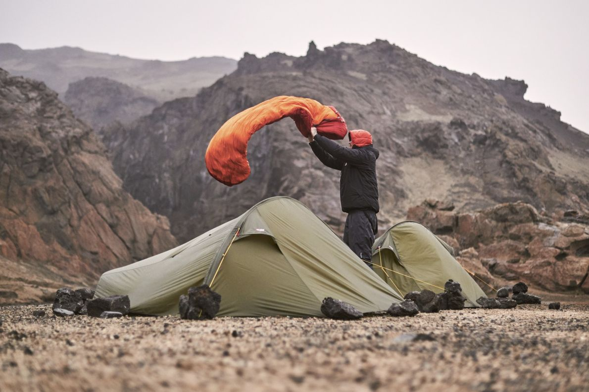 Tag 5: Elf von zwölf Nächten verbringen wir in Zelten. Die richtige Ausrüstung (Zelt, Isomatte und ...