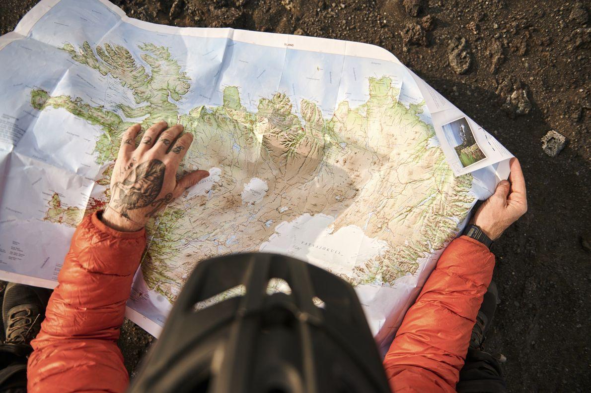 Tag 6: Kein Tacho, kein GPS, kein Navi – nur ein Satellitentelefon für den Notfall. Das ...