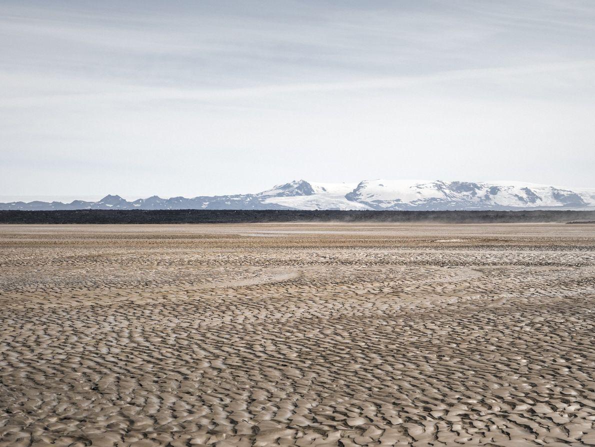 Tag 6: Wenn der Wind hier mit bis zu 200 km/h über den Gletscher weht, können ...