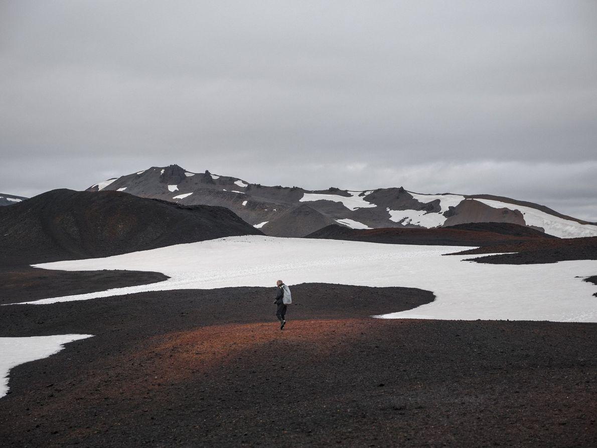 """Tag 5: Wir nehmen uns einen Tag """"frei"""", um den Vulkan Askja zu erkunden. Erst einmal ..."""