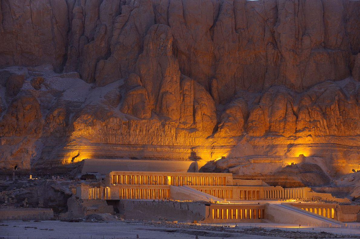 Der Tempel der Frau, die als Pharao herrschte