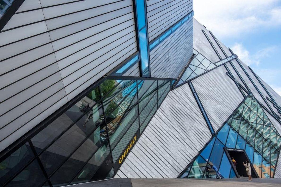Das Royal Ontario Museum ist das größte Museum des Landes und lockt jährlich mehr als eine ...