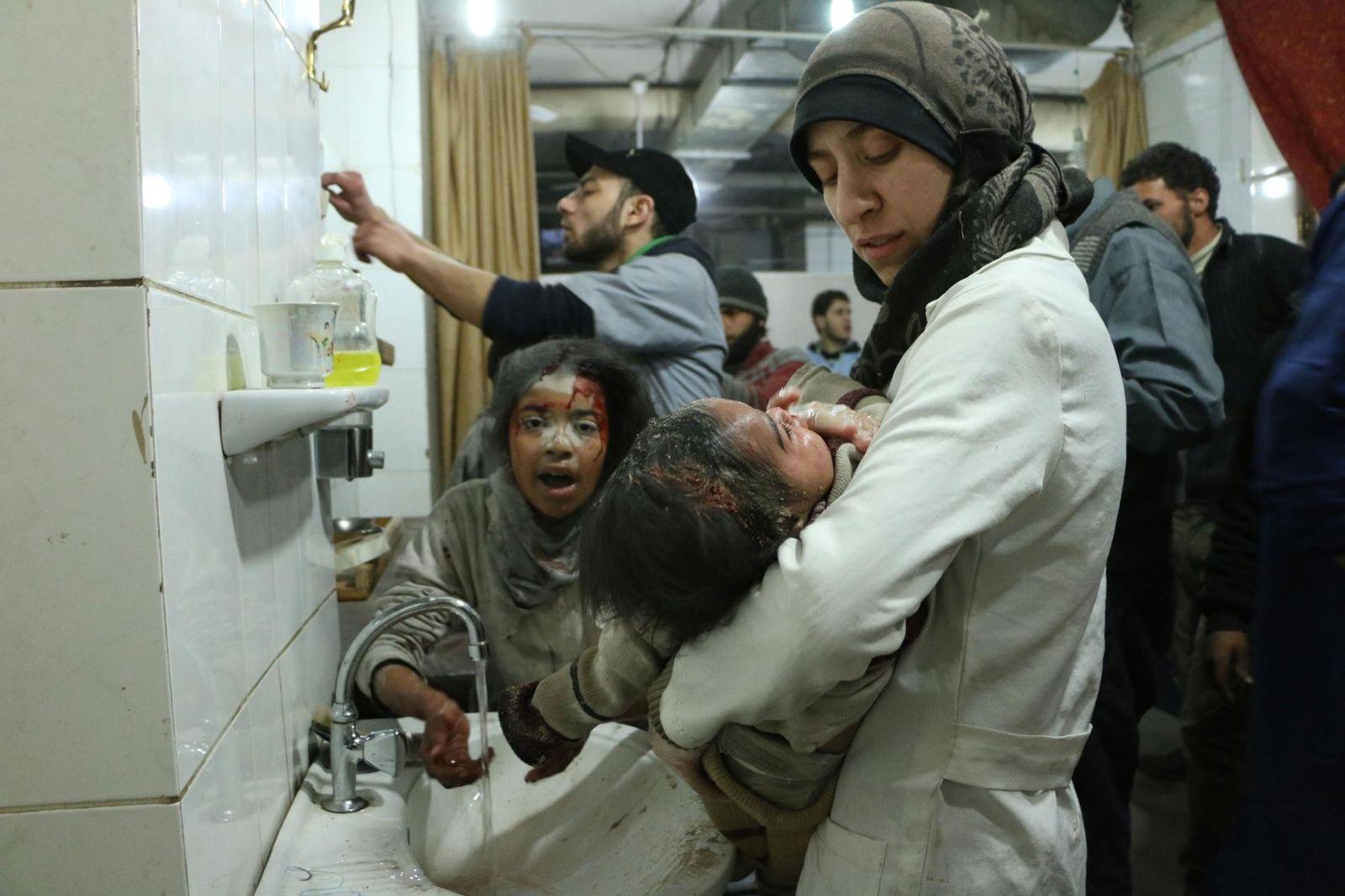 Eine Chronik des Syrienkonflikts