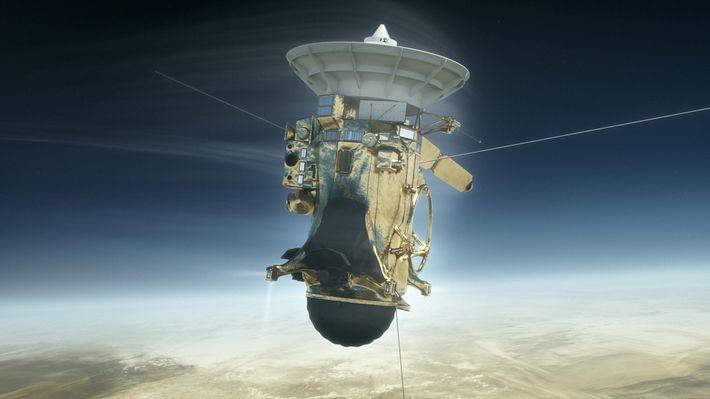 Sturz in den Saturn: Cassinis dramatische letzte Mission