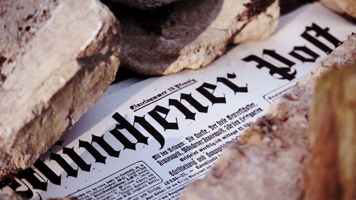 Schlagzeilen gegen Hitler