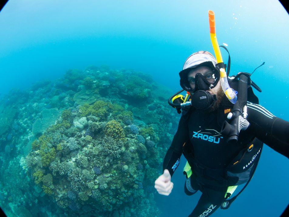 Making-of: So entstand das Weltrekord-Foto eines Riffs