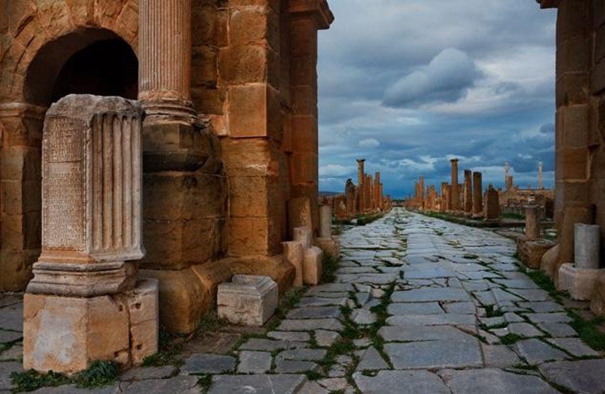Timgad, Algerien