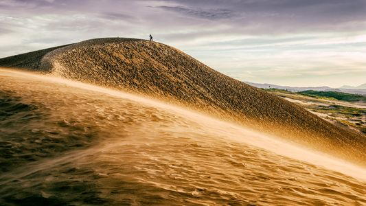 Japans unerwartet schöne Sanddünen