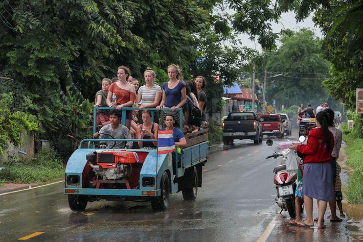 """Ban Ta Klang ist als """"Dorf der Elefanten"""" bekannt und während der letzten Jahre immer beliebter ..."""
