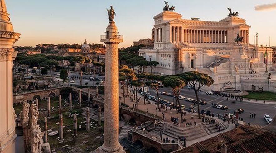 Römisches Reich: Die Säule von Trajan