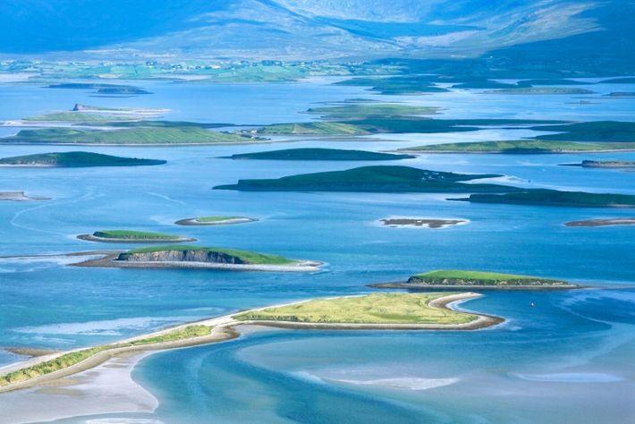 Inseln der Clew Bay