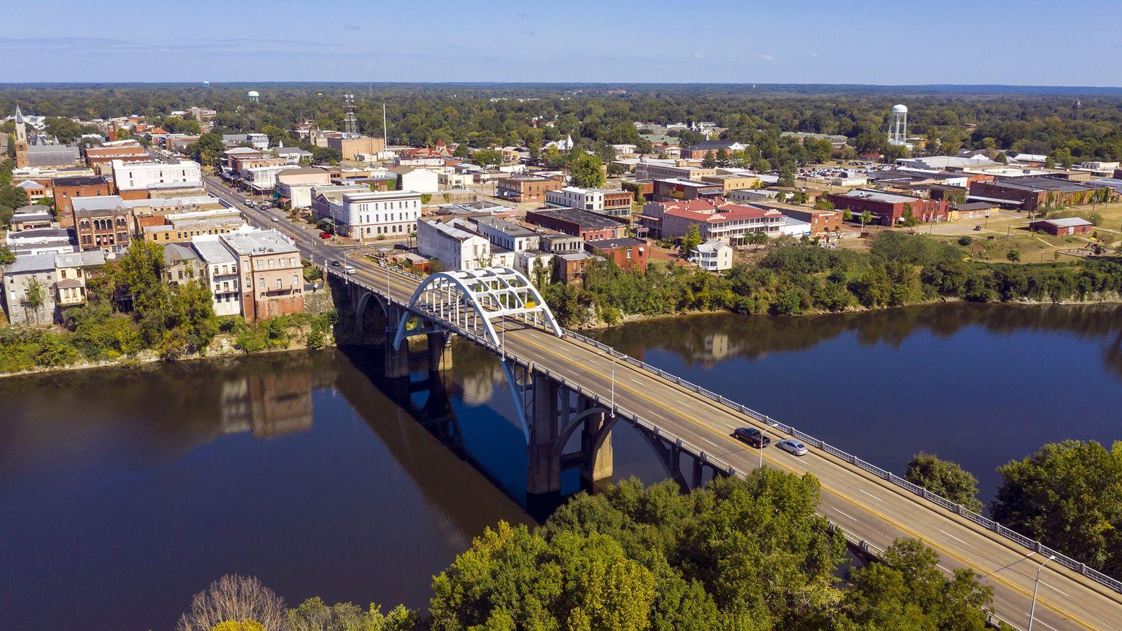 Die Edmund Pettus Bridge in Selma