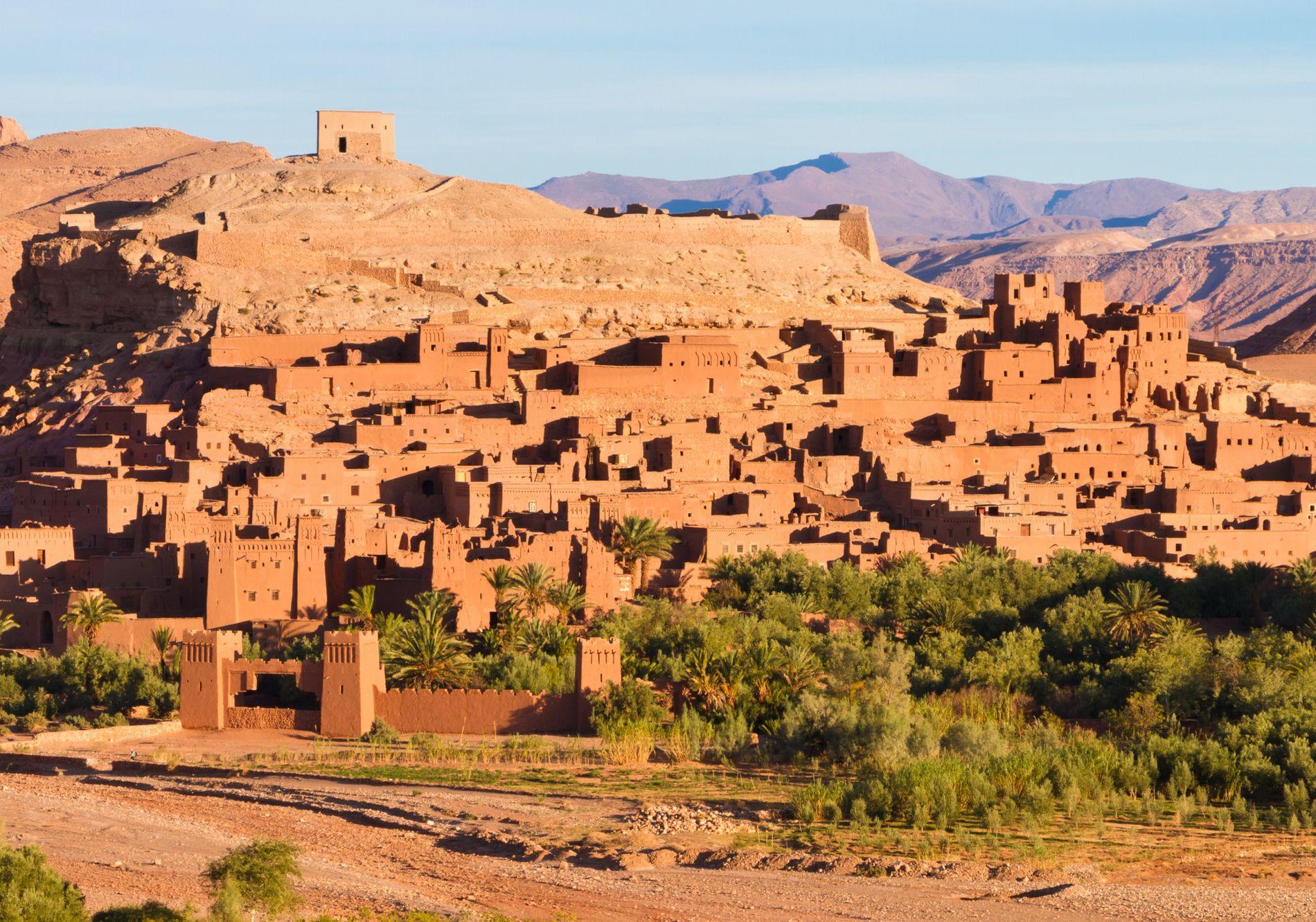 Die Kasbah Taourirt bei Ouarzazate