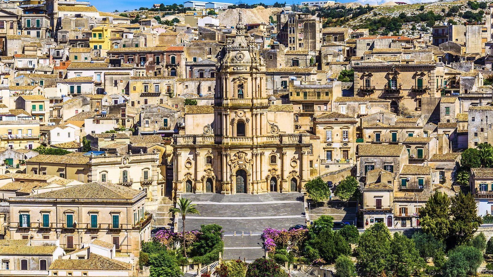 Modica im Südosten Siziliens zählt zum Unesco-Weltkulturerbe.