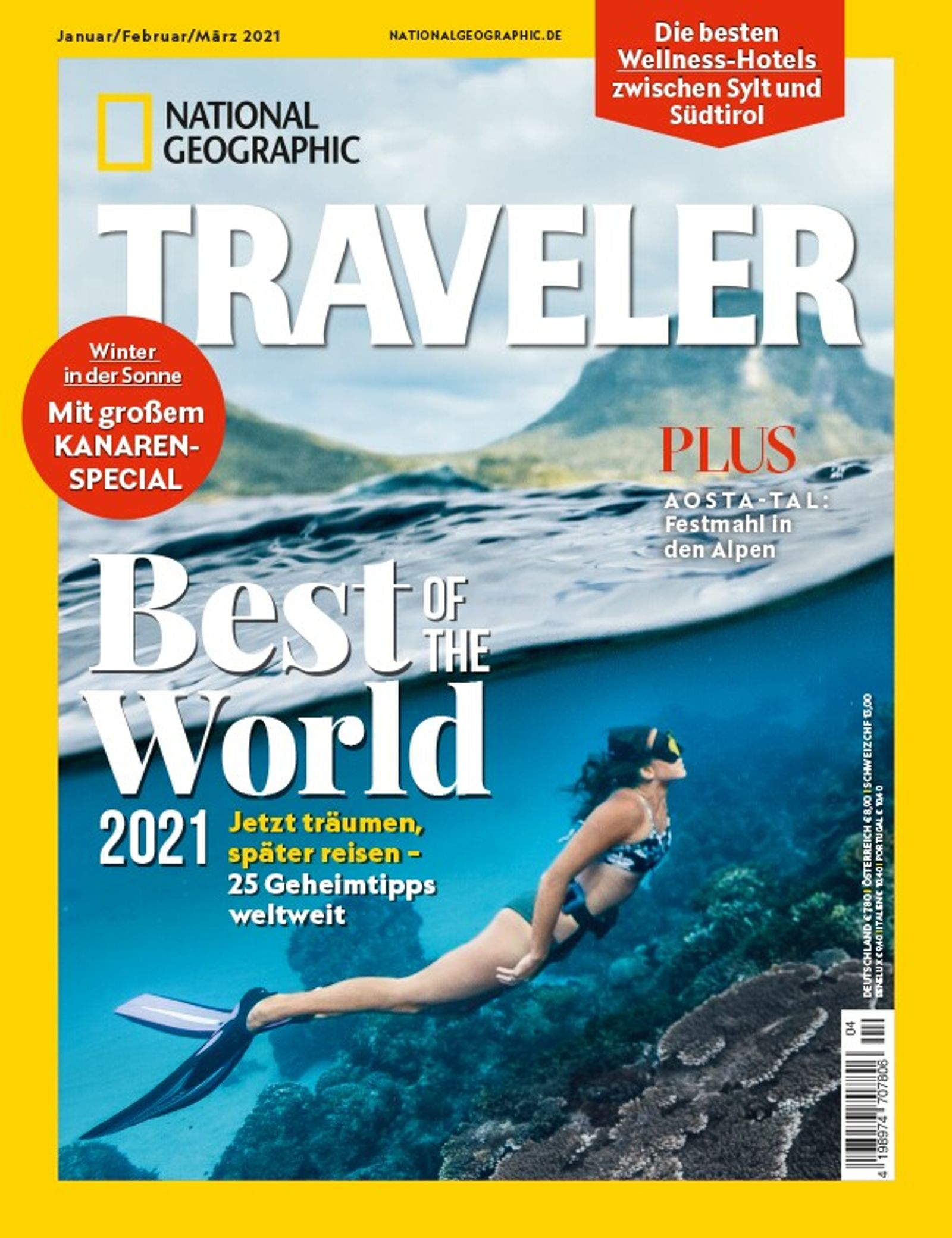 National Geographic Traveler Januar 2021