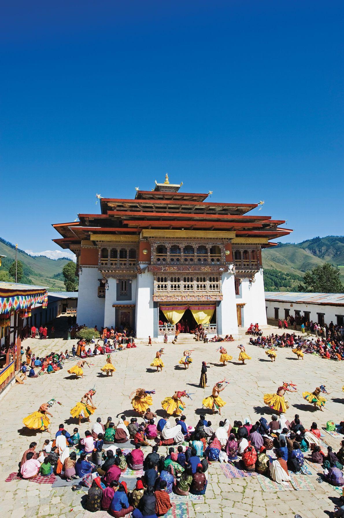 Gangtey Valley, Bhutan