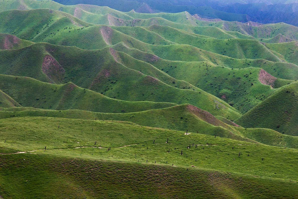 Hügel von Turkmen Sahra