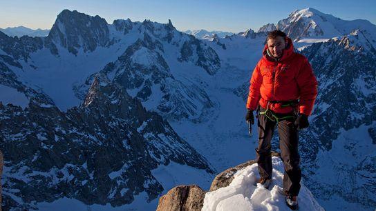 Steck 2012 auf dem Gipfel des Les Drus