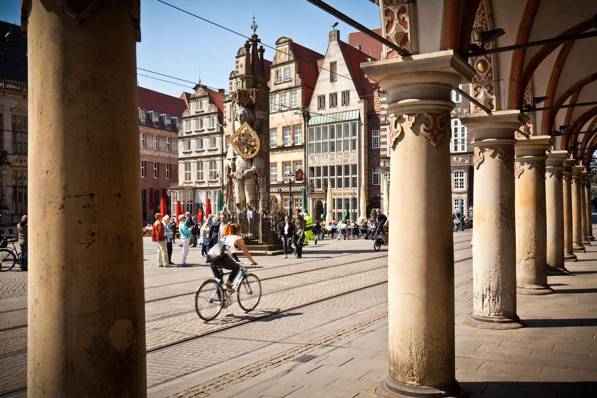 Rathaus und Roland in Bremen