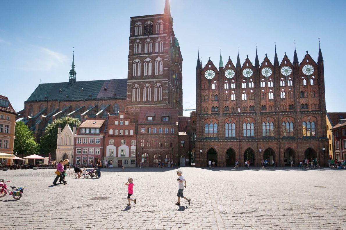 Altstädte von Stralsund und Wismar