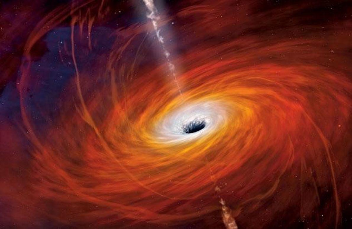 """""""Unser"""" Schwarzes Loch in der Milchstraße"""